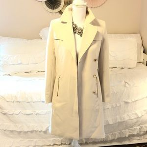 H&M Trench Coat with Gold Hardware
